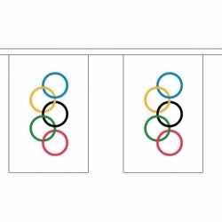 Buiten vlaggenlijn olympische spelen 3 m
