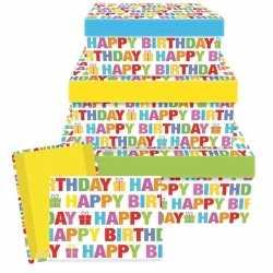 Cadeaudoosje happy birthday 26