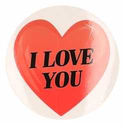 Cadeausticker i love you hart 9