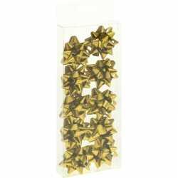 Cadeaustrikjes goud 10 stuks 5