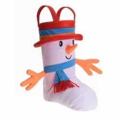 Cadeauzak schoen 3d sneeuwpop