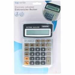 Calculator rekenmachine grijs