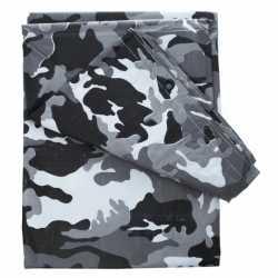 Camouflage afdekzeil 4 bij 3 meter