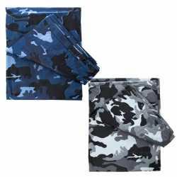 Camouflage afdekzeil 6 bij 3,5 meter