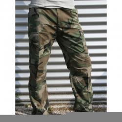 Camouflage broek 100% katoen