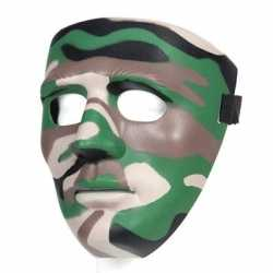 Camouflage gezichtsmasker