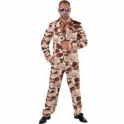 Camouflage kostuum 3-delig heren