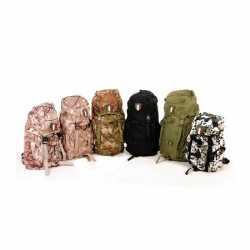 Camouflage nylon rugzak Italia 35 liter