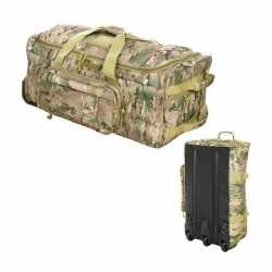 Camouflage trolley weekendtas
