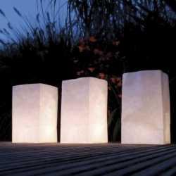 Candle Bags set blanco 26