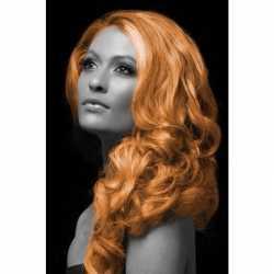 Carnaval haarverf oranje