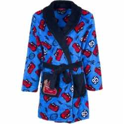 Cars fleece badjas blauw jongens