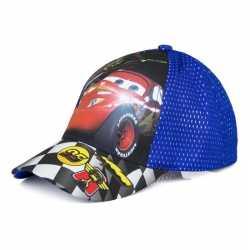 Cars pet/cap blauw kinderen