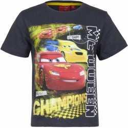 Cars t shirt grijs jongens