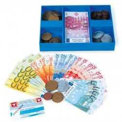 Casette gevuld speel geld