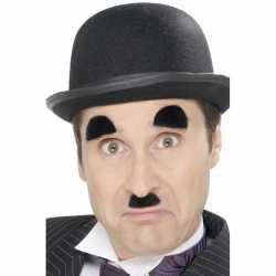 Charlie Chaplin snor wenkbrauwen