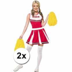 Cheerballs geel 2 stuks