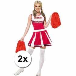 Cheerballs rood 2 stuks