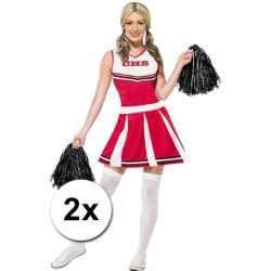Cheerballs zwart 2 stuks