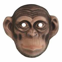 Chimpansee verkleed apen dierenmasker kinderen