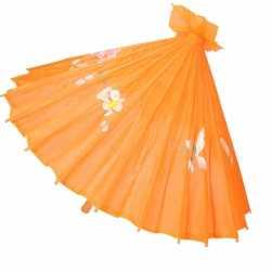 Chinese paraplu oranje 50