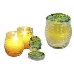 Citronella kaars in glas 8.5