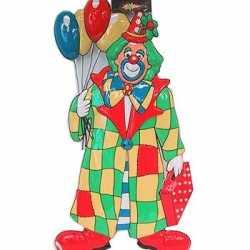 Clown decoratie ballonnen