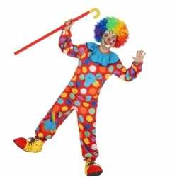 Clown dots kostuum jongens