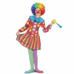 Clown dotty kostuum meisjes