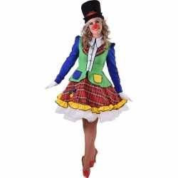 Clown Pipo jurkje dames