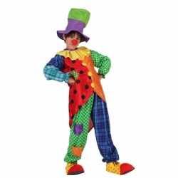 Clown stitches kostuum jongens