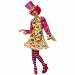Clowns kostuum dames