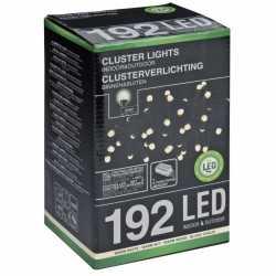 Clusterverlichting warm wit 192 lampjes