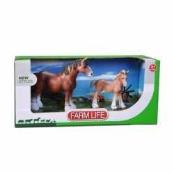 Clydesdale paard veulen plastic