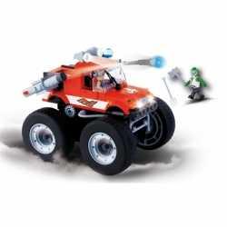 Cobi monster truck bouwstenen set