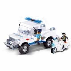 Cobi politiewagen bouwstenen set