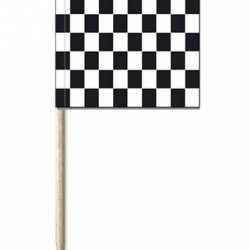Cocktail prikkers Finish vlag 50 stuks