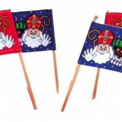Cocktail prikkers Sinterklaas