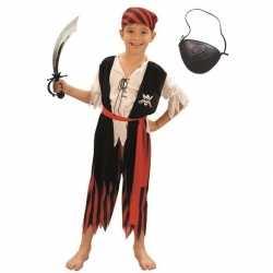 Compleet piraten kostuum maat m kinderen