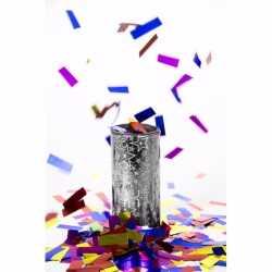 Confetti tafelkanon zilver