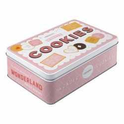 Cookies bewaarblik roze 23