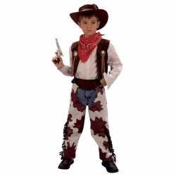 Cowboy koeienprint kostuum kinderen