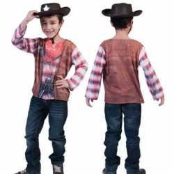Cowboy shirt 3D print kids