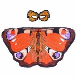 Dagpauwoog vlinder verkleedset meisjes