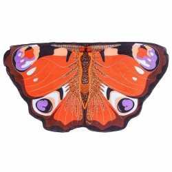 Dagpauwoog vlinder vleugels kinderen