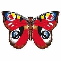 Dagpauwoog vlinder vlieger 70 bij 48