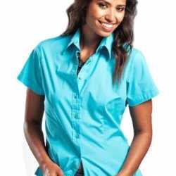Dames overhemd korte mouwen