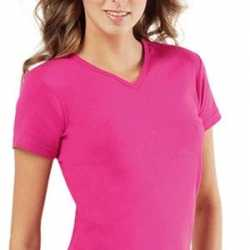 Dames t-shirt Body fit 2-pack
