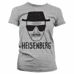 Dames T-shirt Breaking Bad Heisenberg grijs