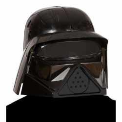Dark lord helm zwart